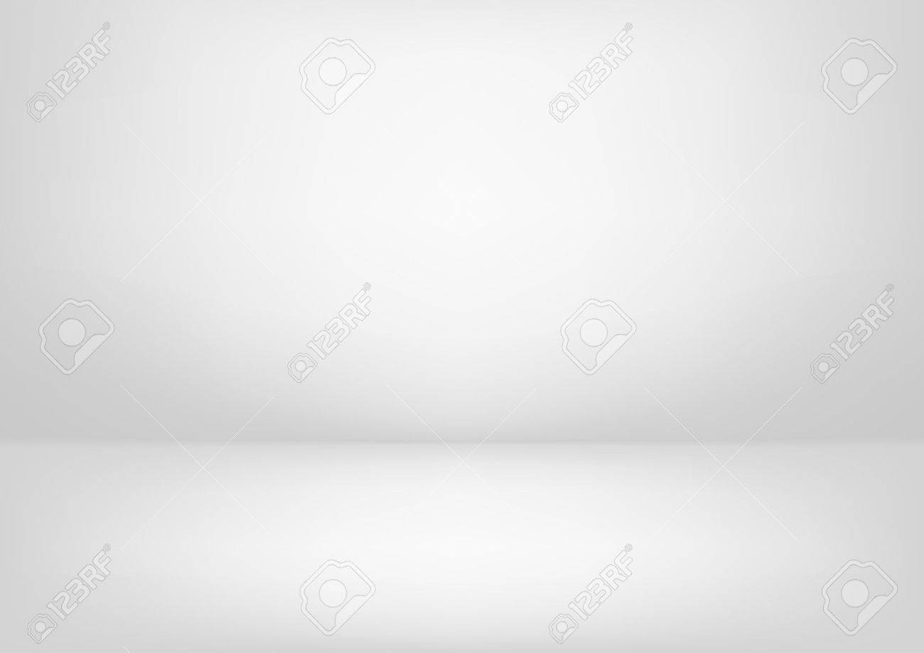 Clear studio light vector white background for product presentation - 61580085