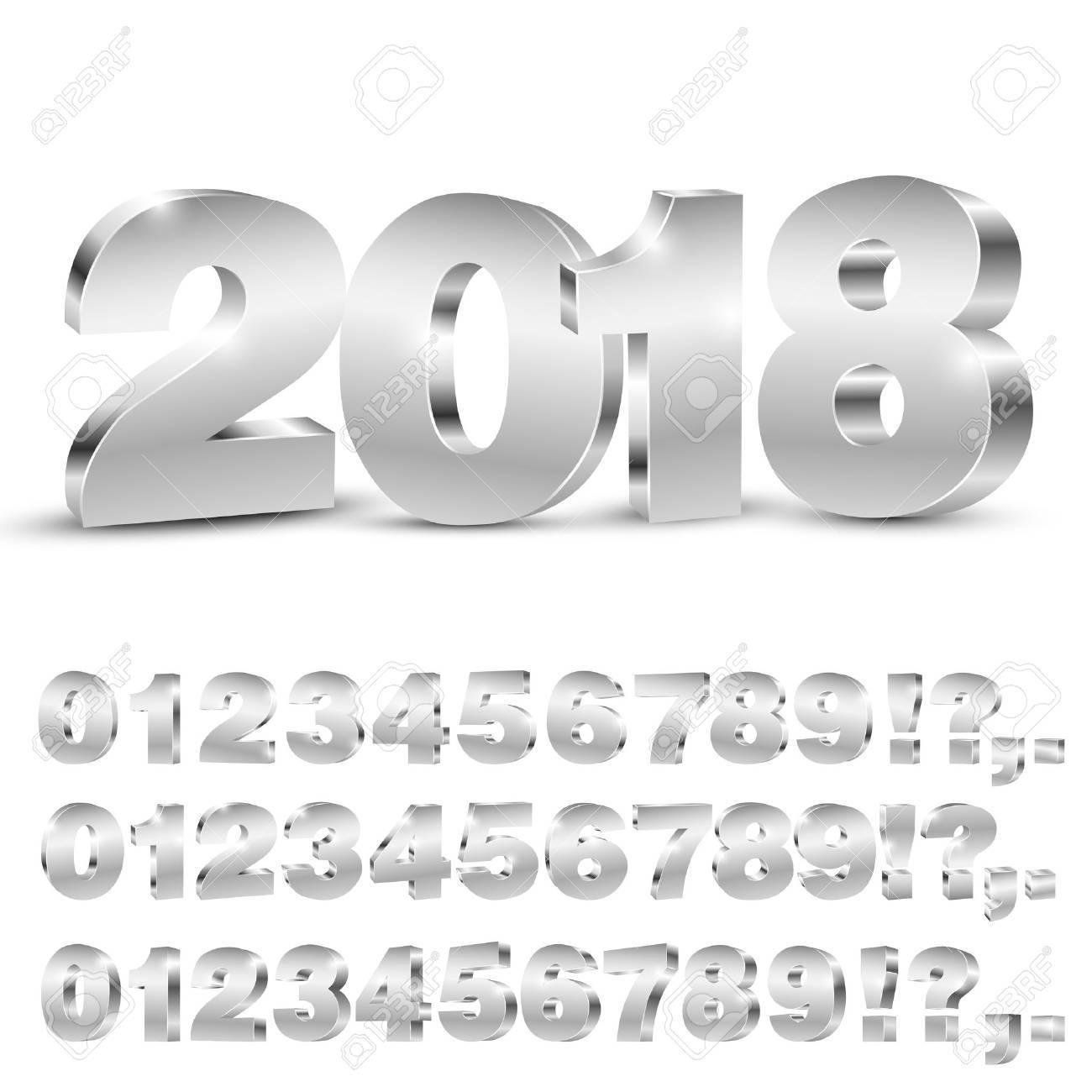 3D vector numbers - 70485449