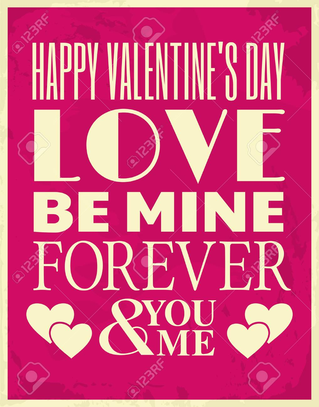 Valentine s Day Greeting Card Stock Vector - 17279054