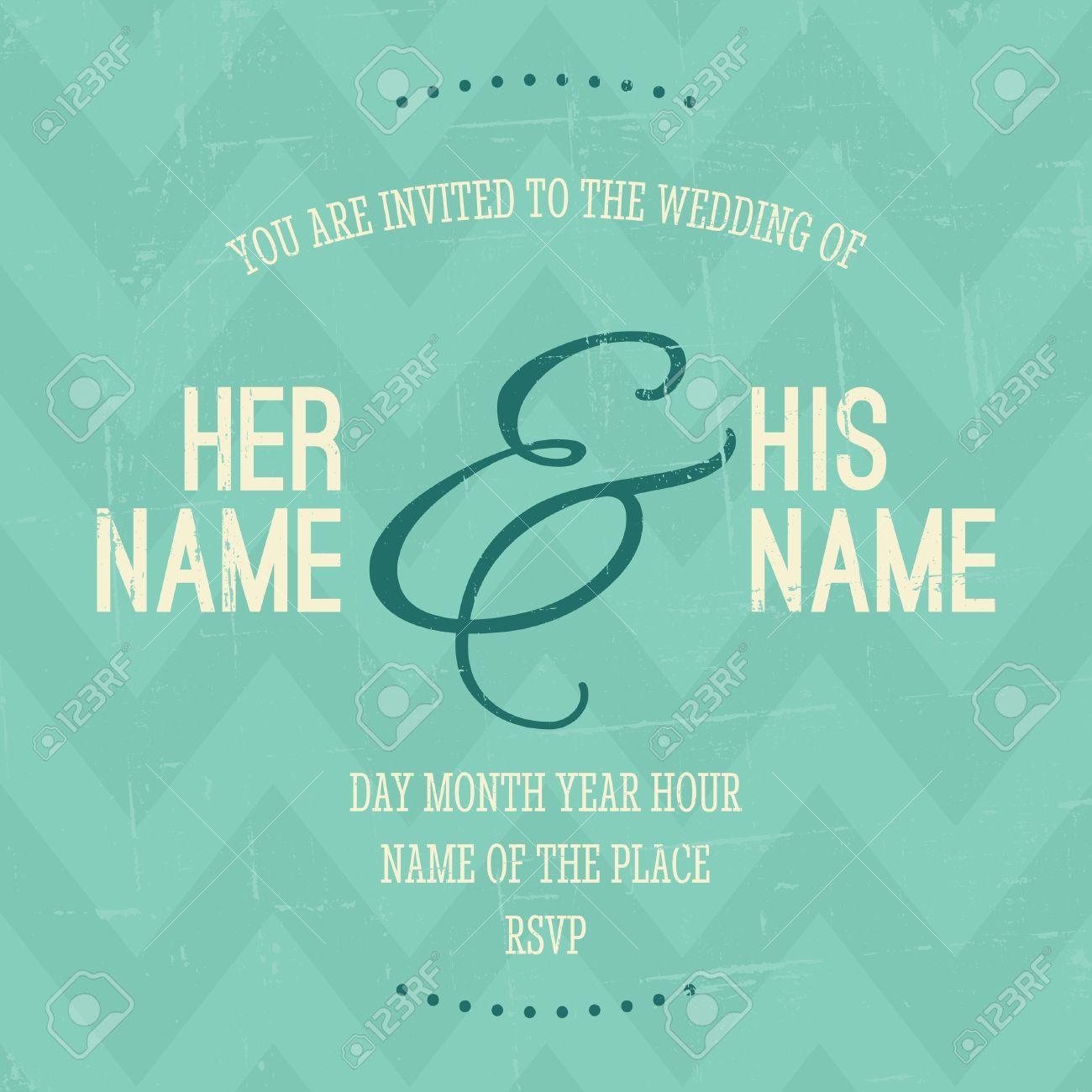 Invitation de mariage Styles