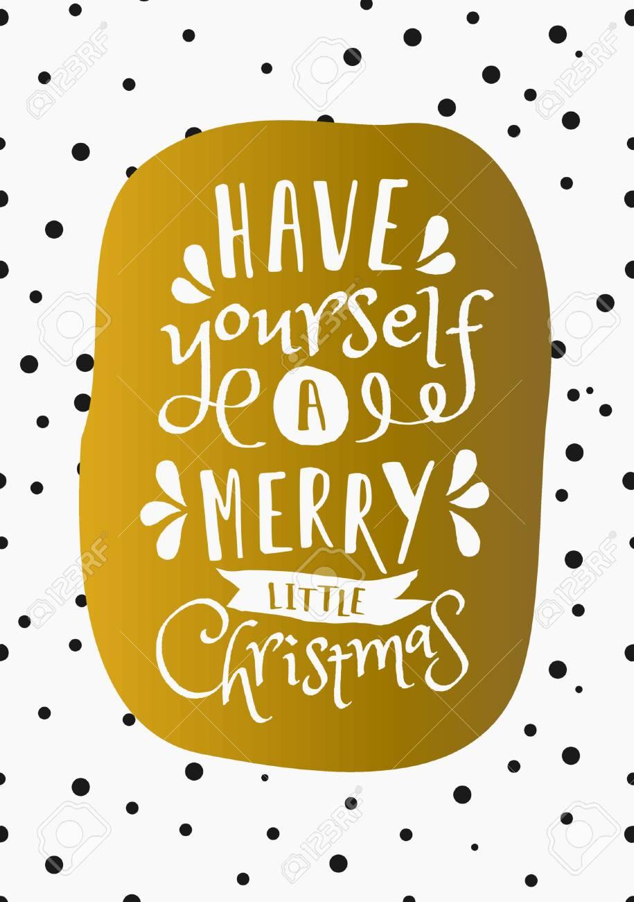 Christmas Greeting Card Design \