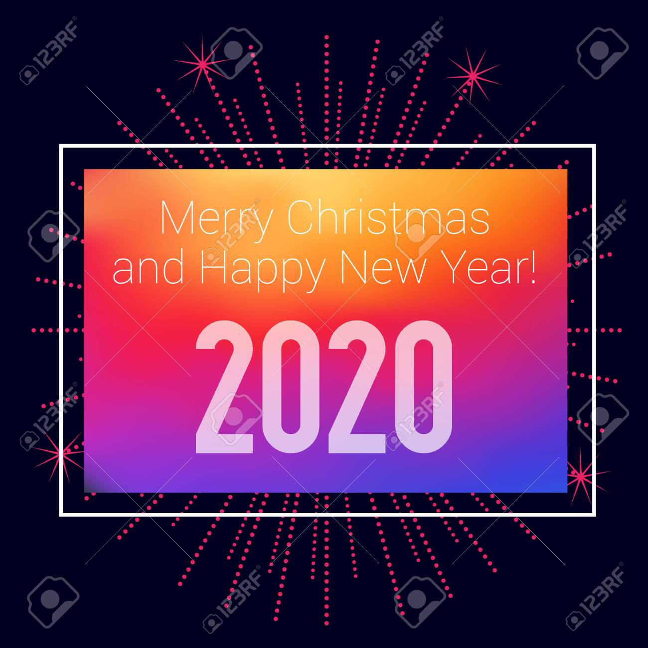 Merry Christmas Images 2020.2020 Merry Xmas Bright Background Merry Christmas And Happy