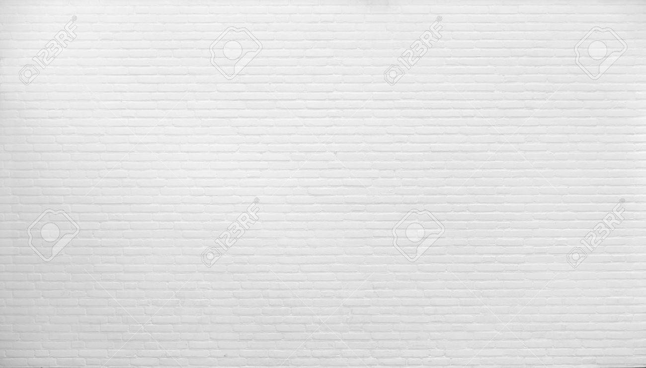 Background. Brick wall painted with white paint. - 58380117