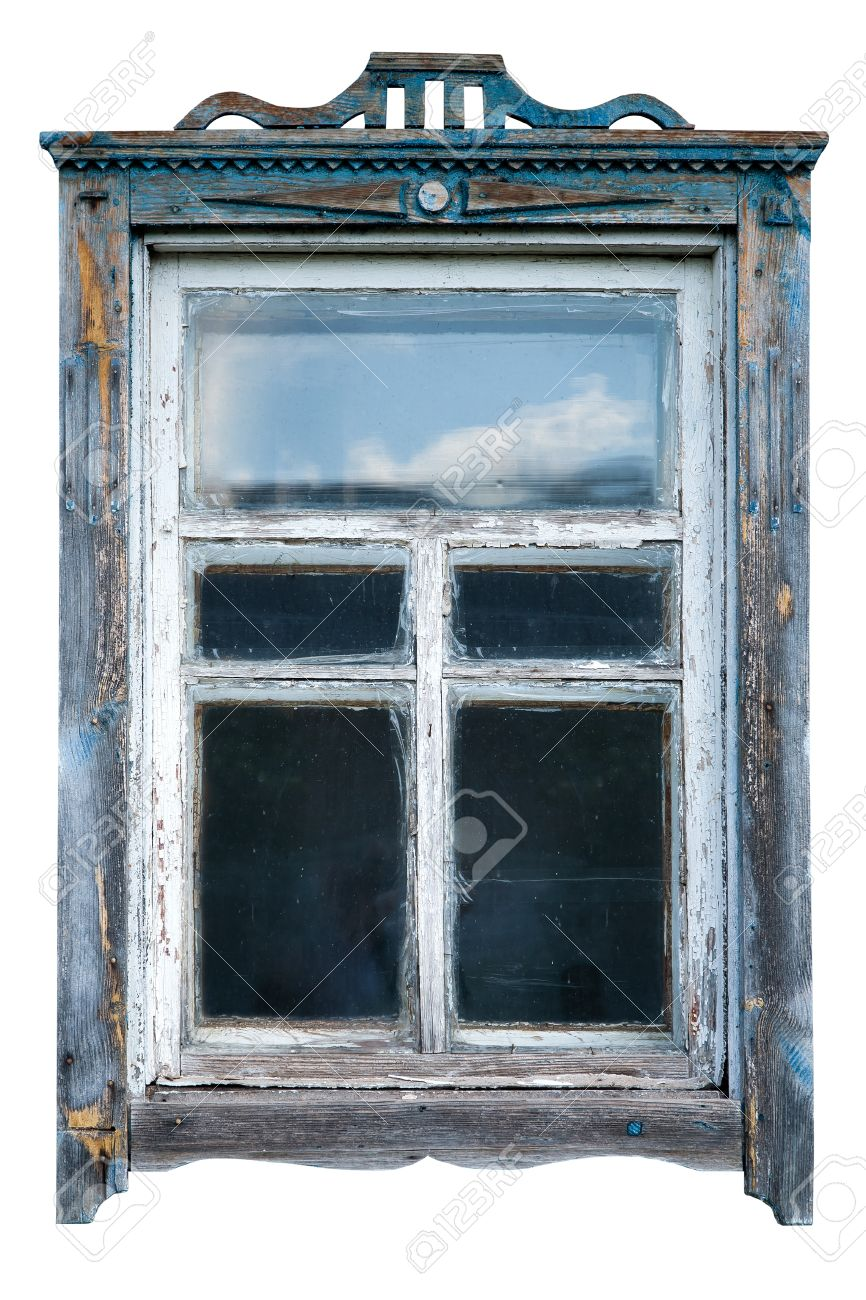 old window frame old window frame stock photo