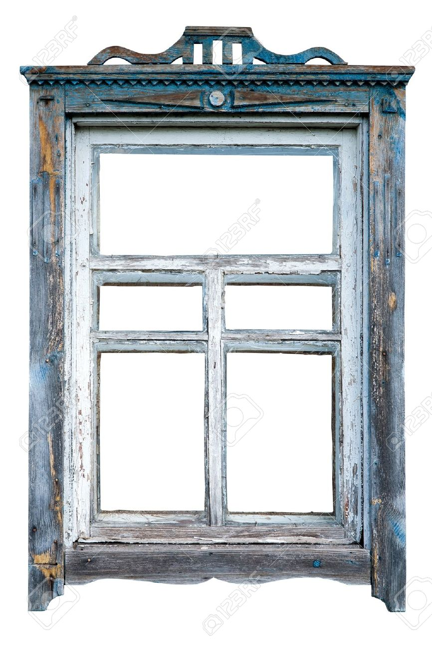 Old Window Frame Stock Photo, Picture And Royalty Free Image. Image ...