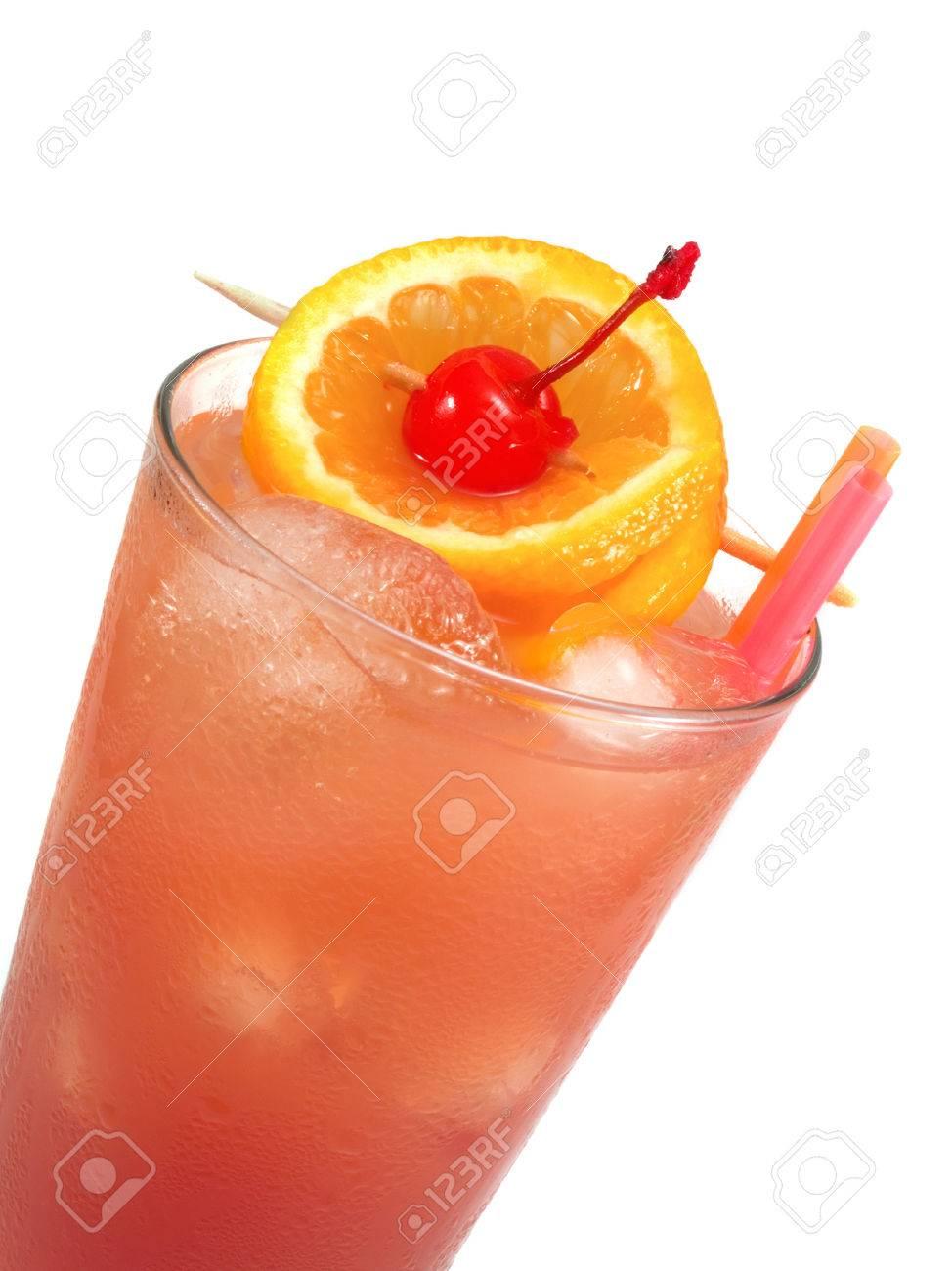 Vodka cranberry orange juice peach schnapps