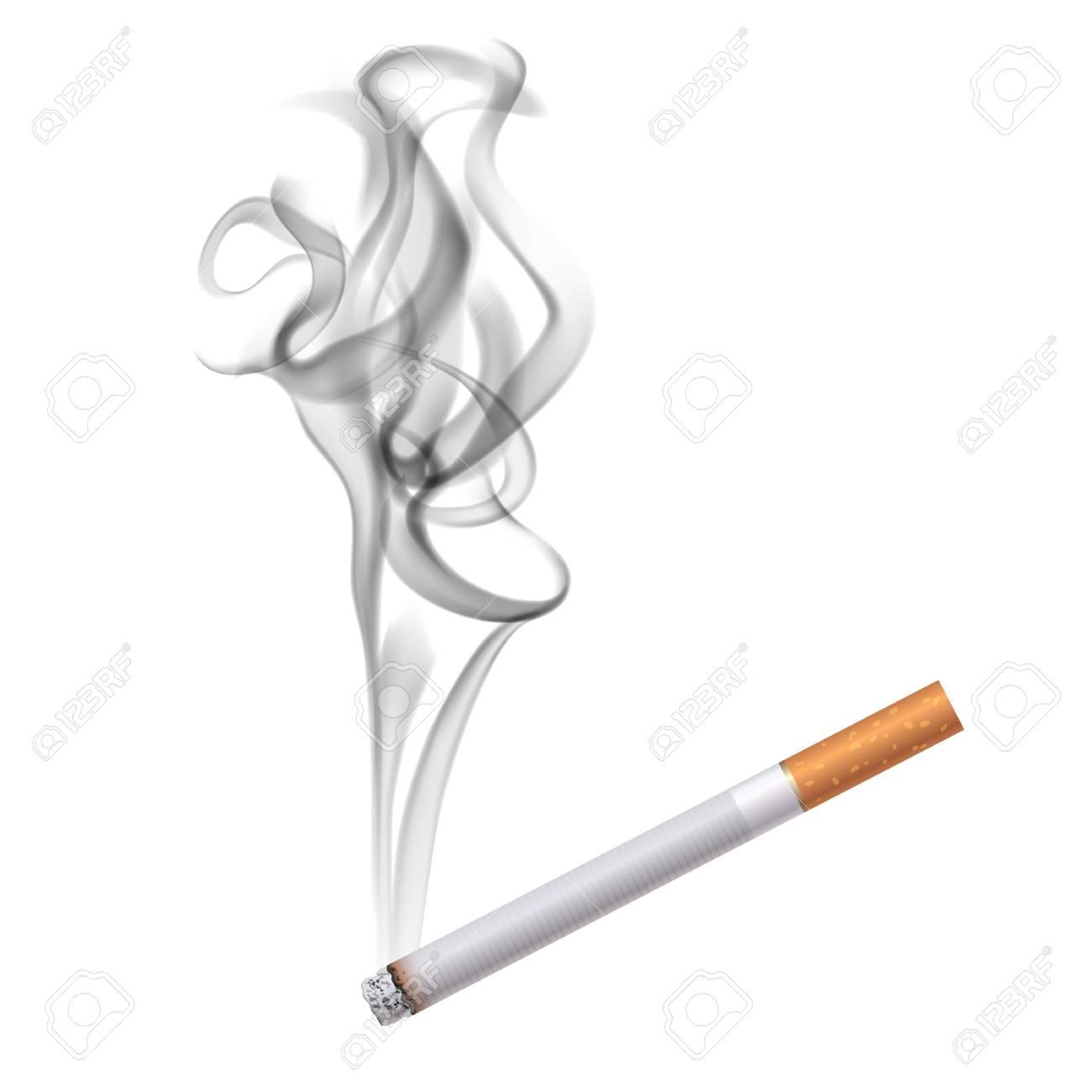 Realistic Smoke Drawing