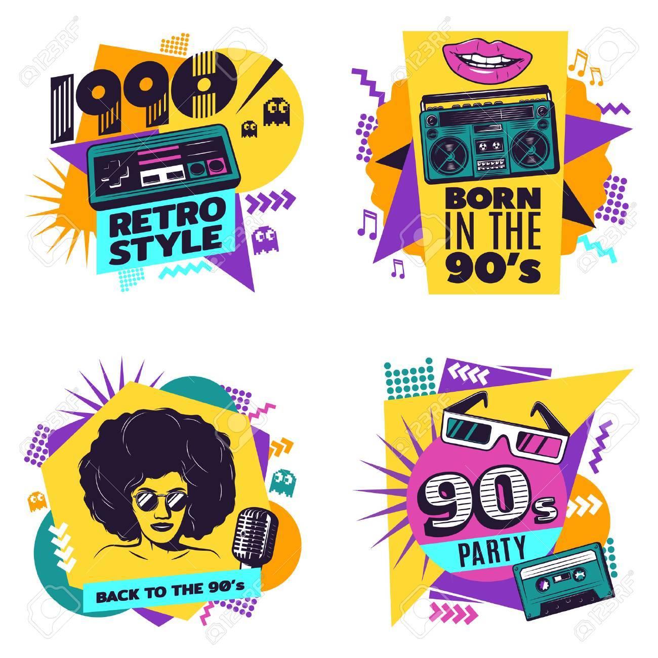 Colorful Labels Set - 71704207