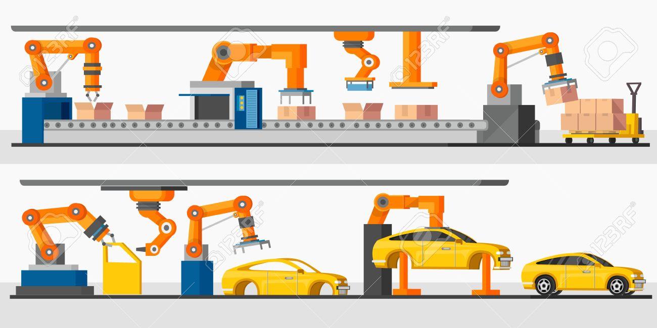 Resultado de imagen de DIFFERENCE ENTRE AUTOMATISATION  ET ROBOT francais