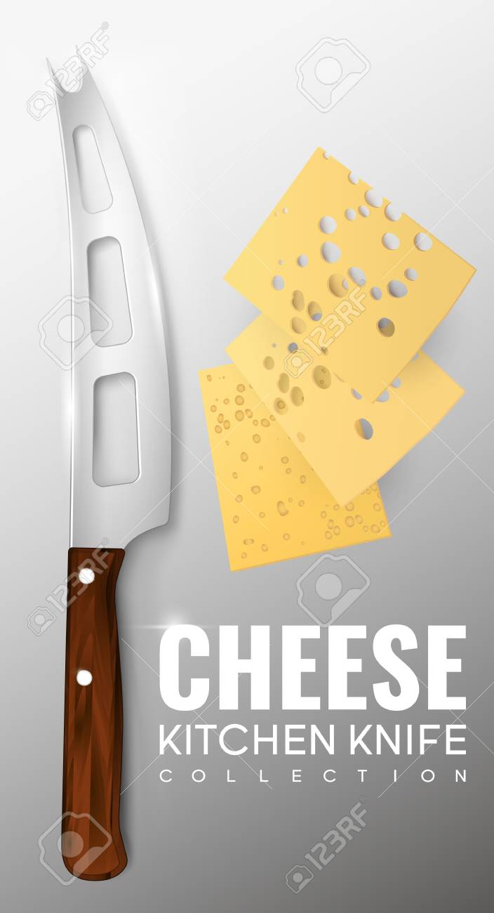 realistic kitchen knife template royalty free cliparts vectors and