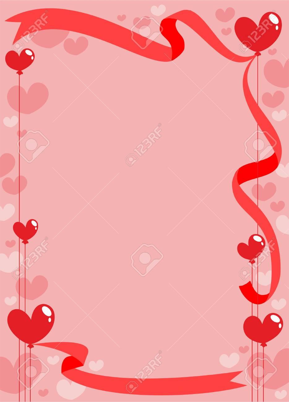 Modele De Carte D Invitation Romantique Clip Art Libres De Droits Vecteurs Et Illustration Image 76709337