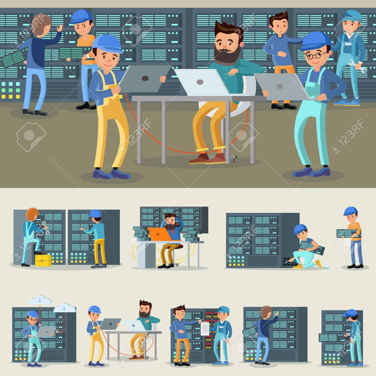 Datacenter Professional Workers Collection - 80369485