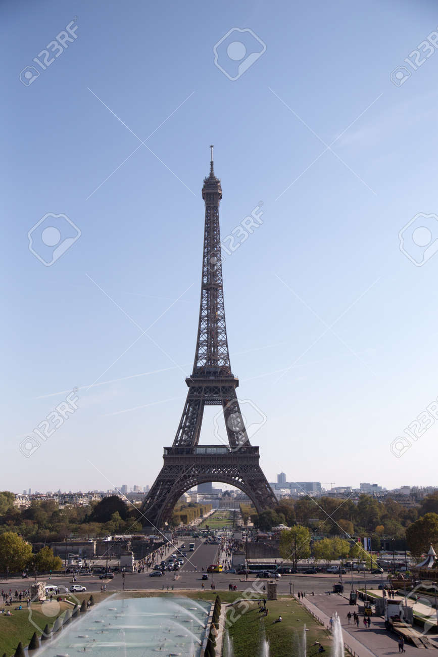 Eiffel Tower, symbol of Paris, France. Paris Best Destinations in Europe/ - 125715954