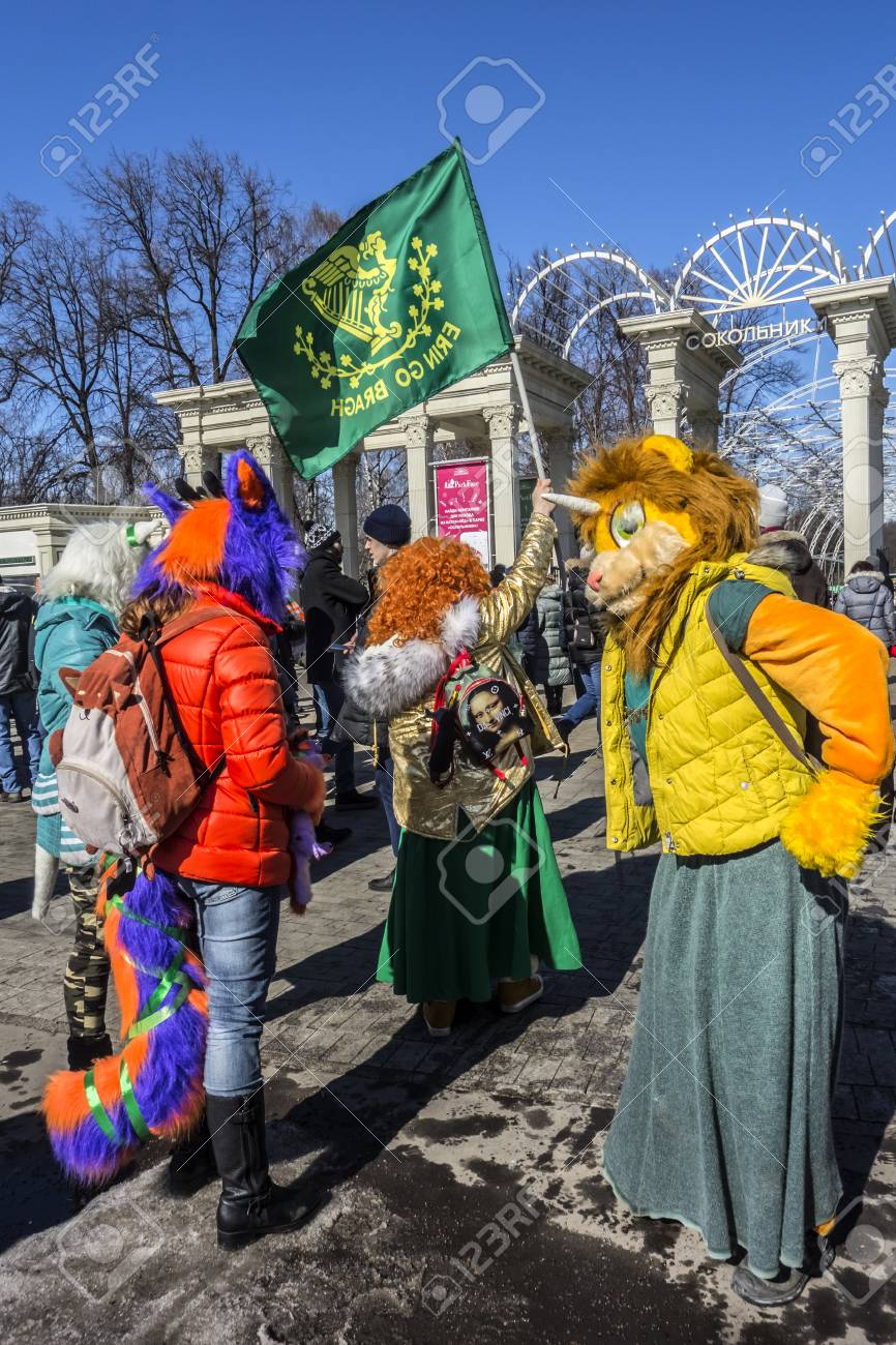 Ireland in Moscow - Parade of St. Patrick 2017 87