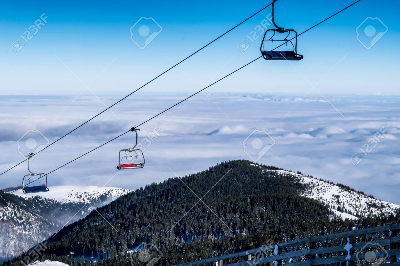 empty chair lift chair empty chair ski lift mountain kopaonik serbia stock photo 72402883 chair ski lift mountain photo picture