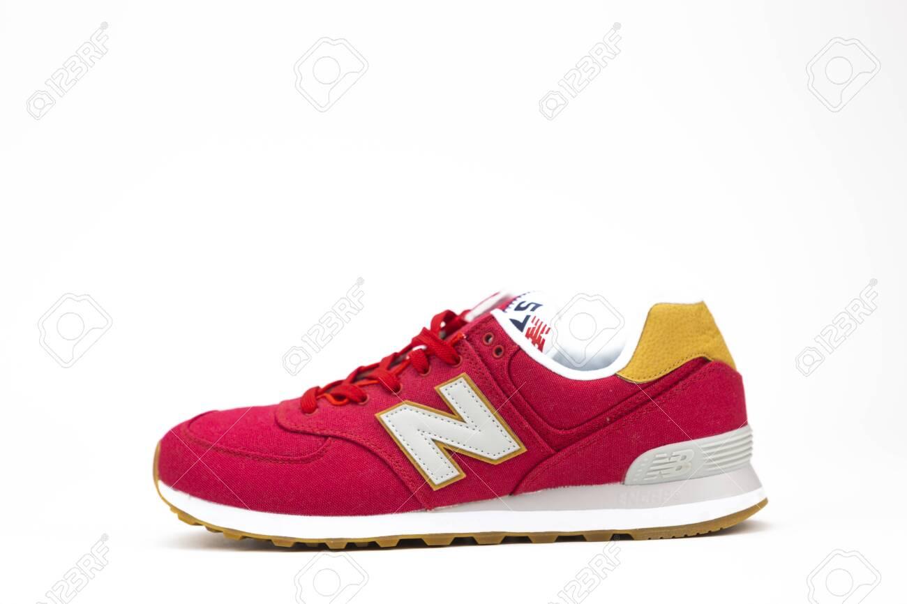 competitive price 2a16f 56713 BOSTON, MA, USA, January 2019 - New Balance NB 574 athletic shoes..