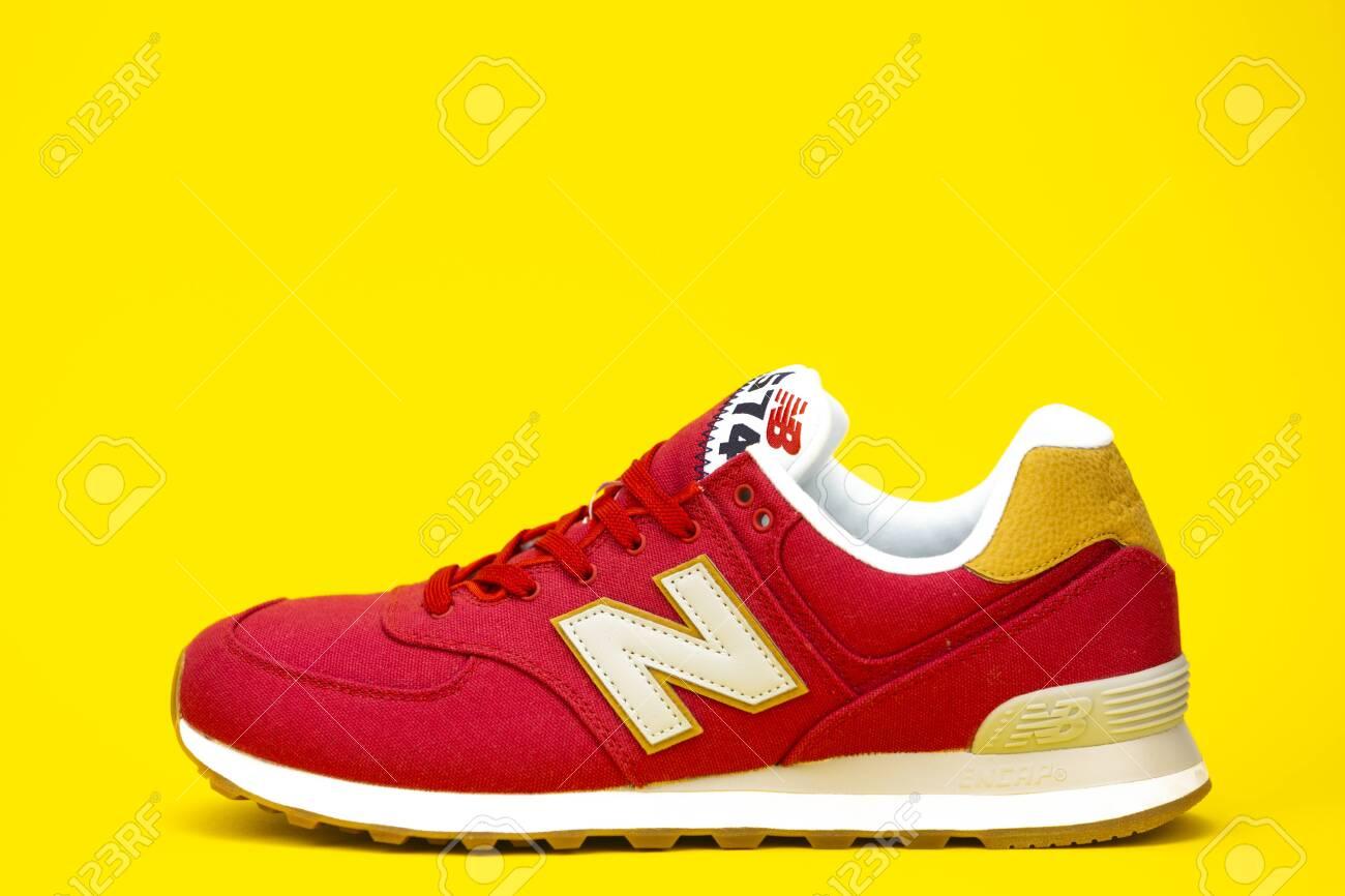 taille 40 6a592 2ae17 BOSTON, MA, USA, January 2019 - New Balance NB 574 athletic shoes.