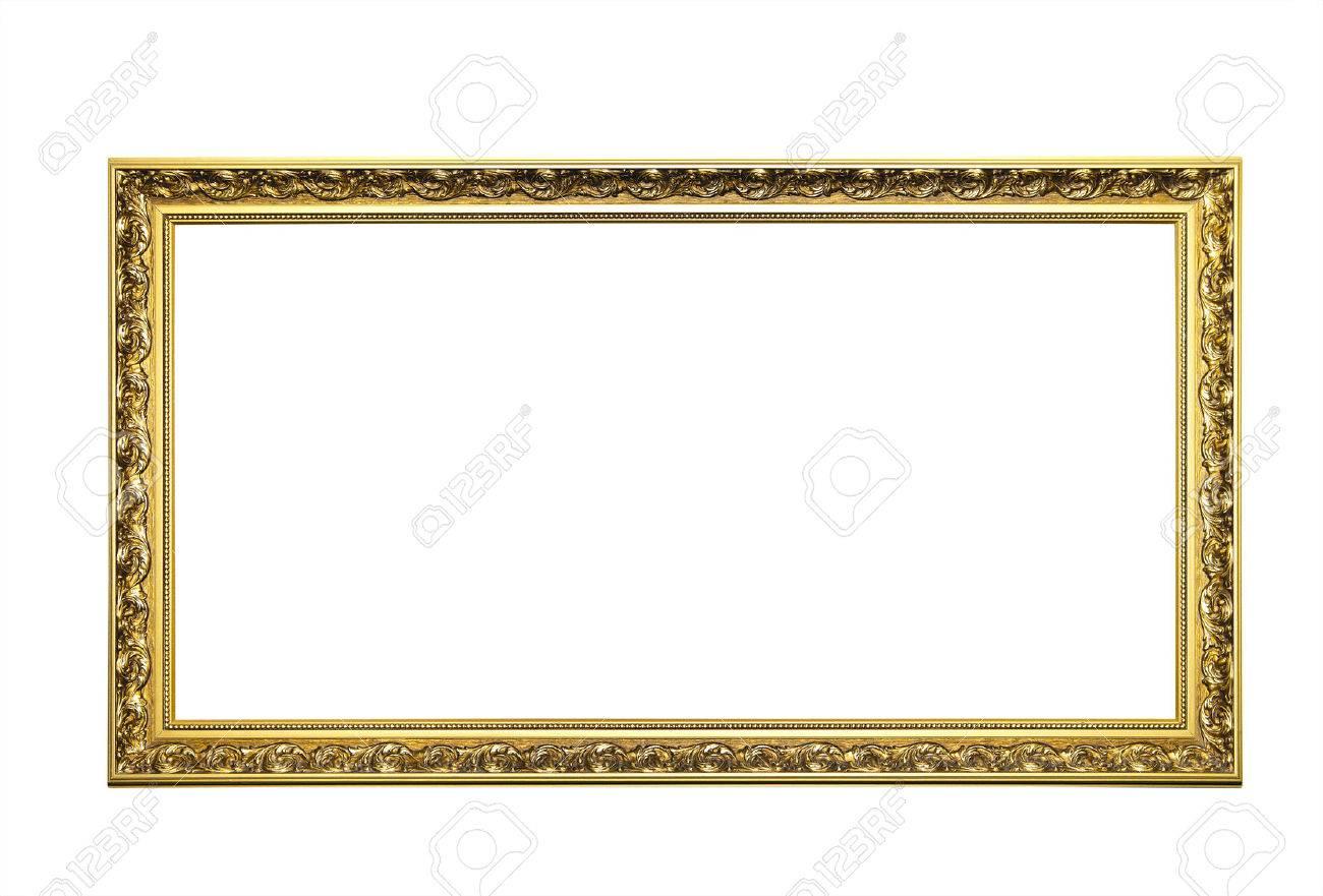 Golden Picture Frame - 37270046