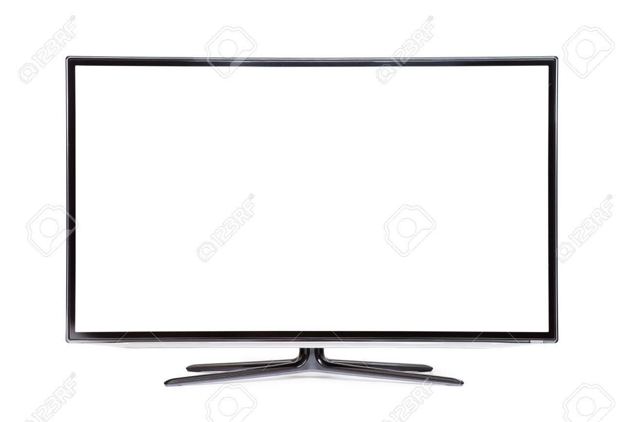 monitor isolated on white - 37376217