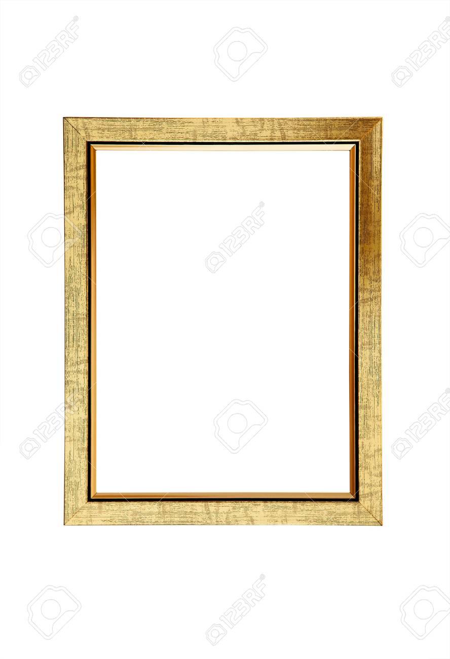 Golden Picture Frame - 37419257