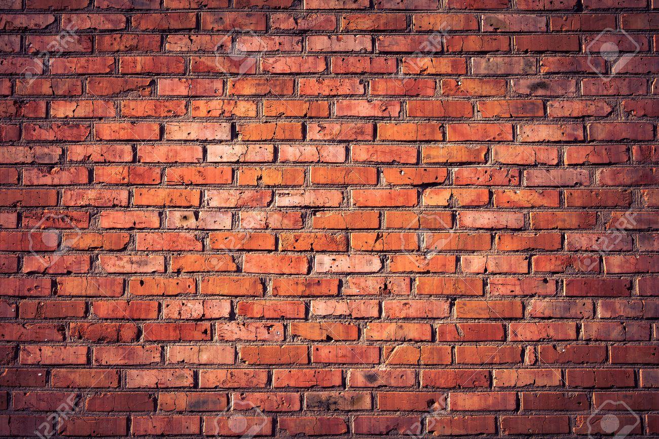Old grunge brick wall background - 37698989