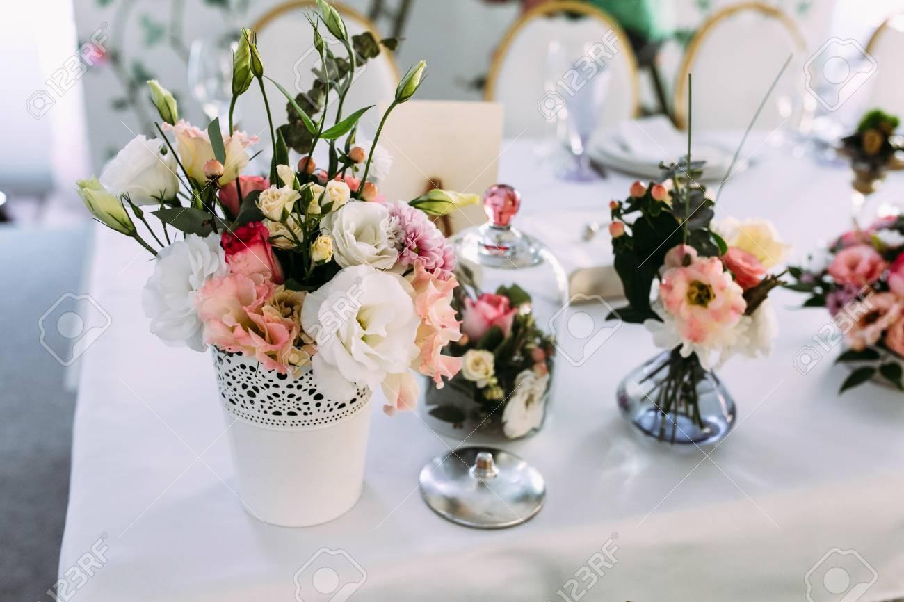Dekoration Tisch.Stock Photo