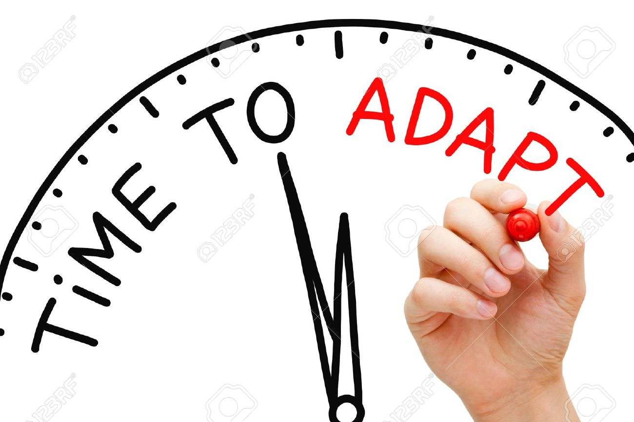 Image result for time to adapt