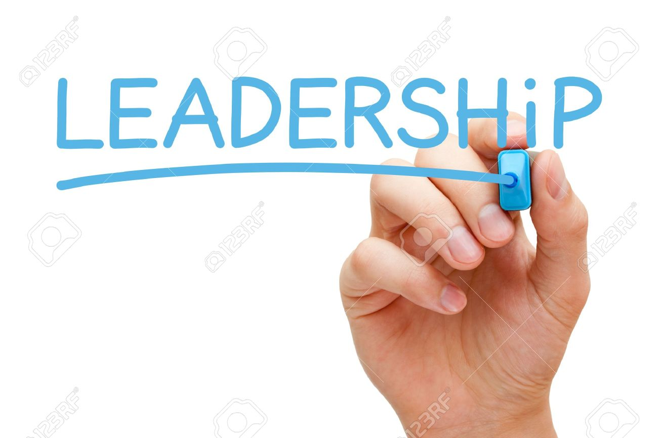 Hand Writing Leadership With Blue Marker On Transparent Wipe Stock Photo Picture And Royalty Free Image Image 21410906