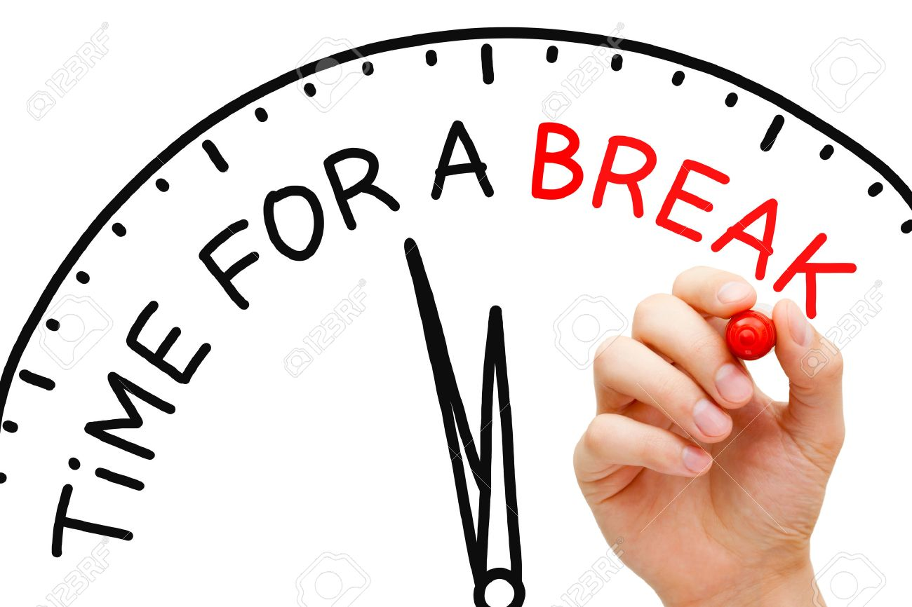hand writing time for a break concept with red marker on transparent rh 123rf com time for breaking fast time for breaking fast