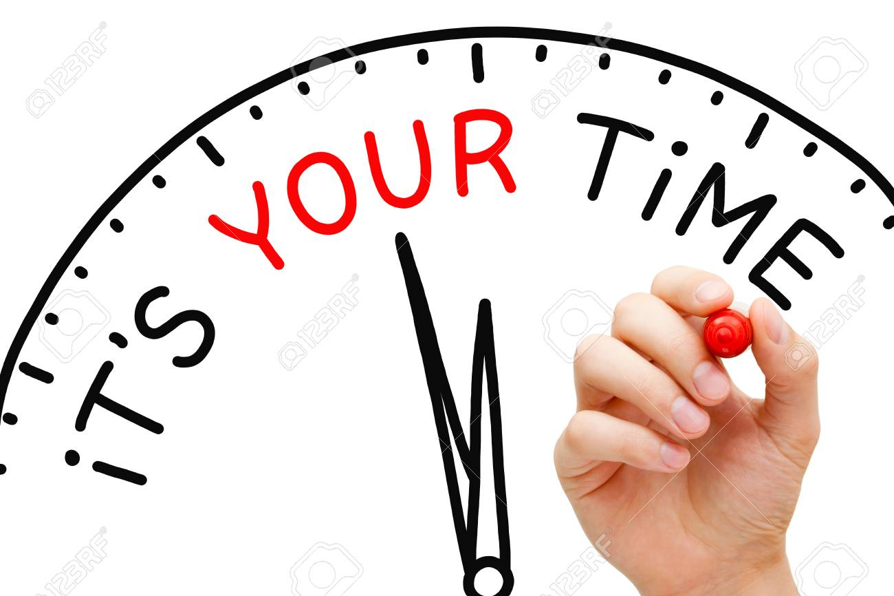 It Is Your Time Clock Concept - 75001295