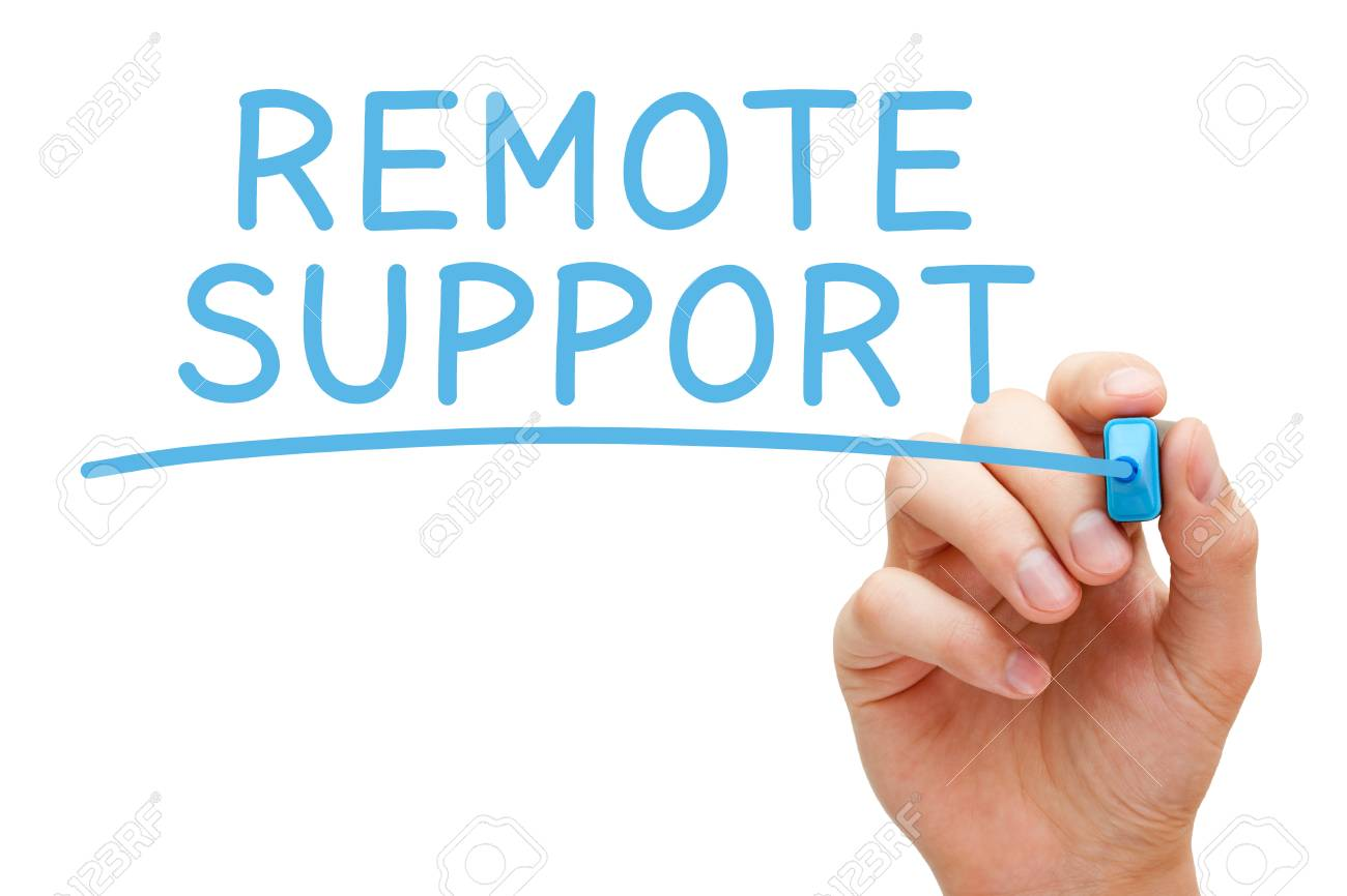 Remote Support Blue Marker - 77153542