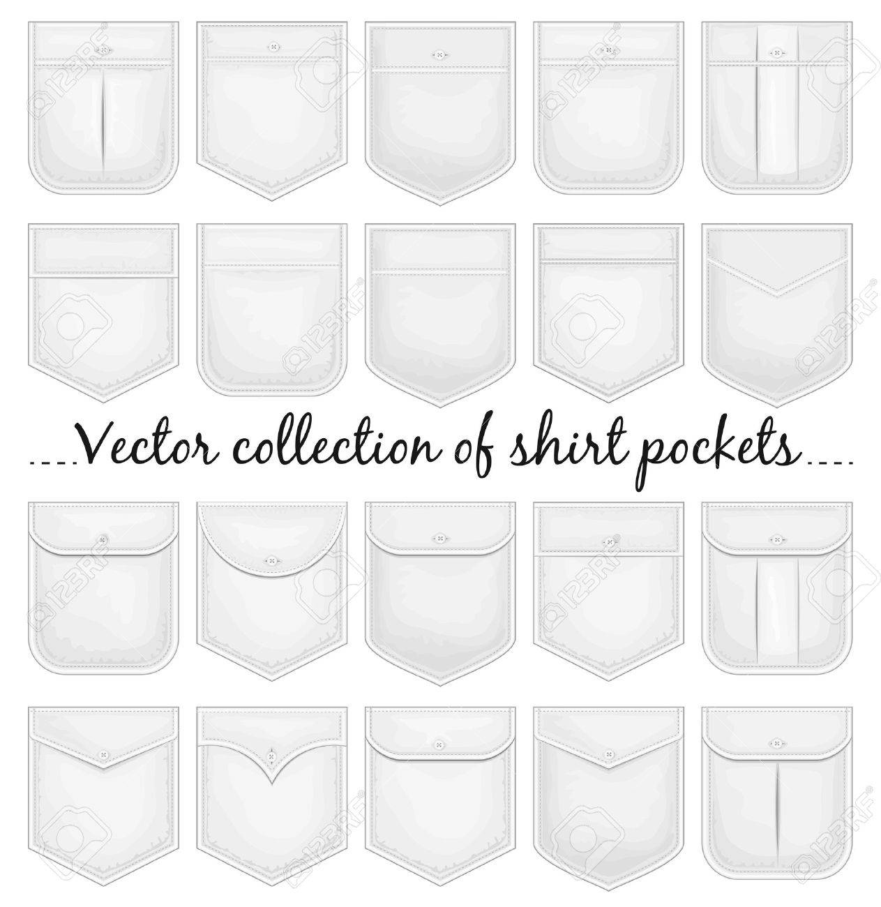 Shirt Vector Template Vector Collection of Shirt