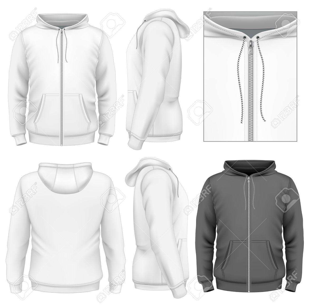hoodie design template