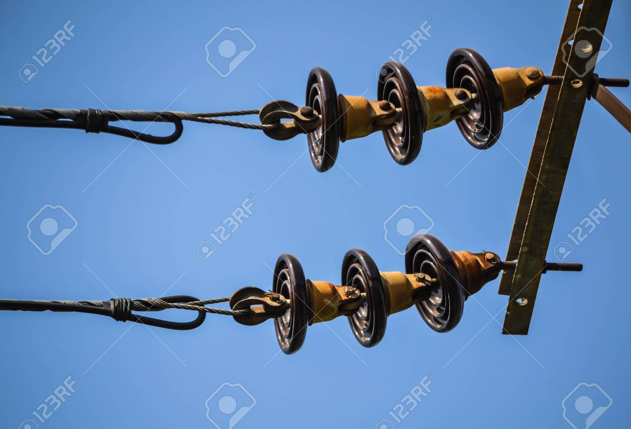High voltage power lines Stock Photo - 17413907