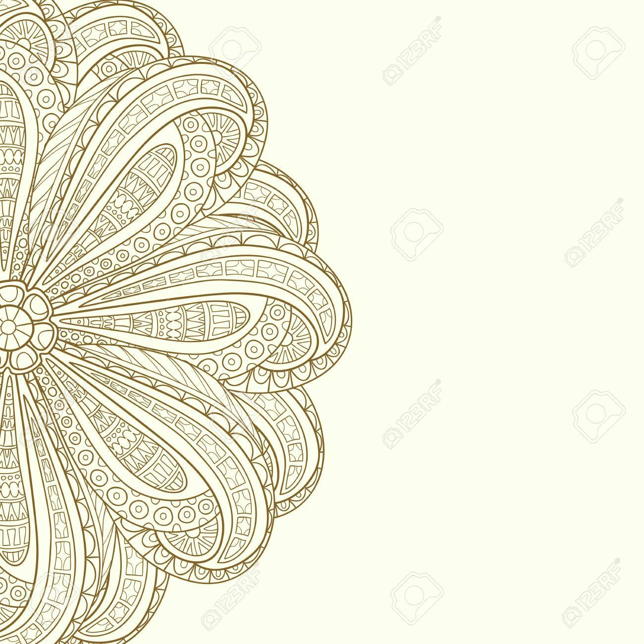 Henna 8x10 FT Photo Backdrops,Flowers and Paisley Doodle Tattoo Pattern Culture Inspiration Monochrome Image Background for Baby Shower Birthday Wedding Bridal Shower Party Decoration Photo Studio