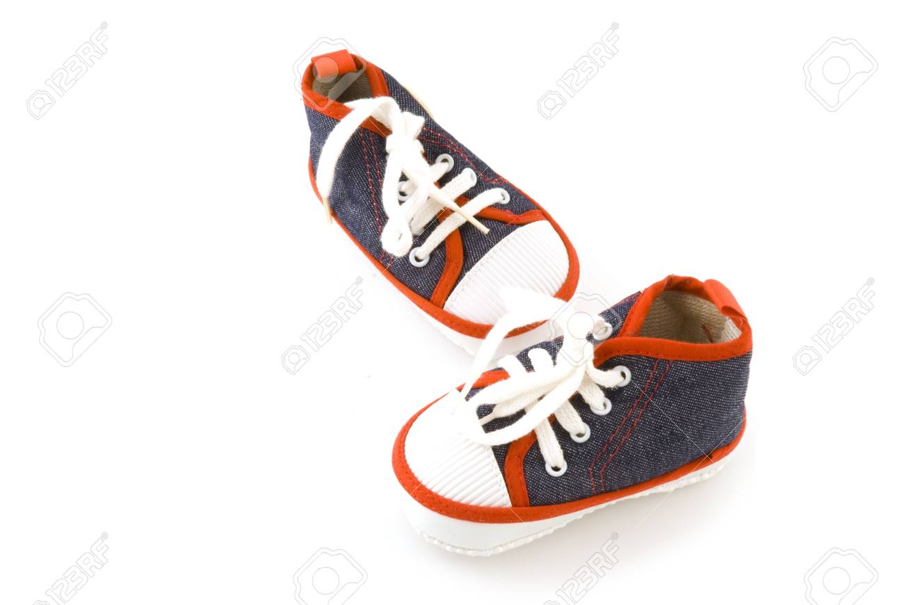 little sporting shoes Stock Photo - 2514855