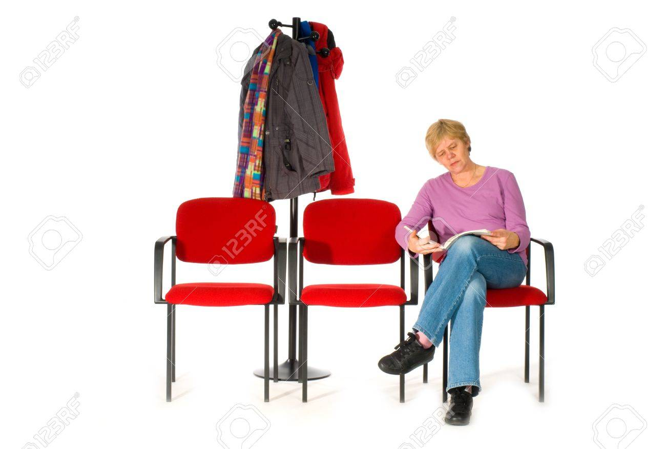 waiting room by doctor or hospital Stock Photo - 4370779