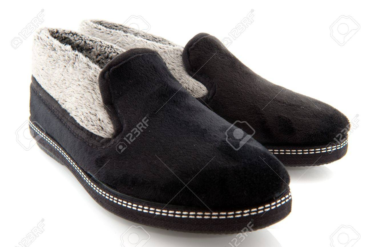 Bed Slippers From An Elderly Woman