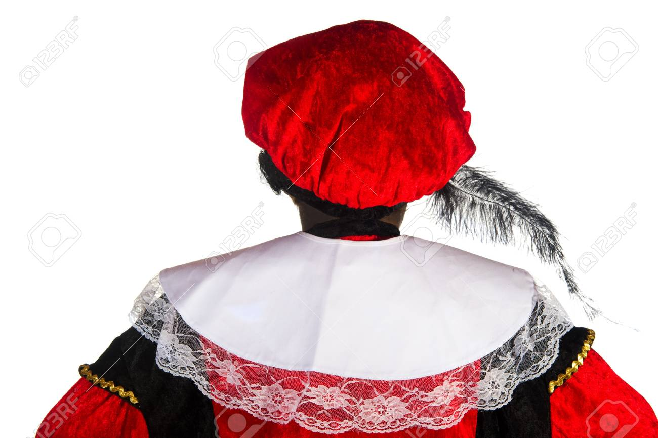 The back from Black Piet in the studio Stock Photo - 7828857