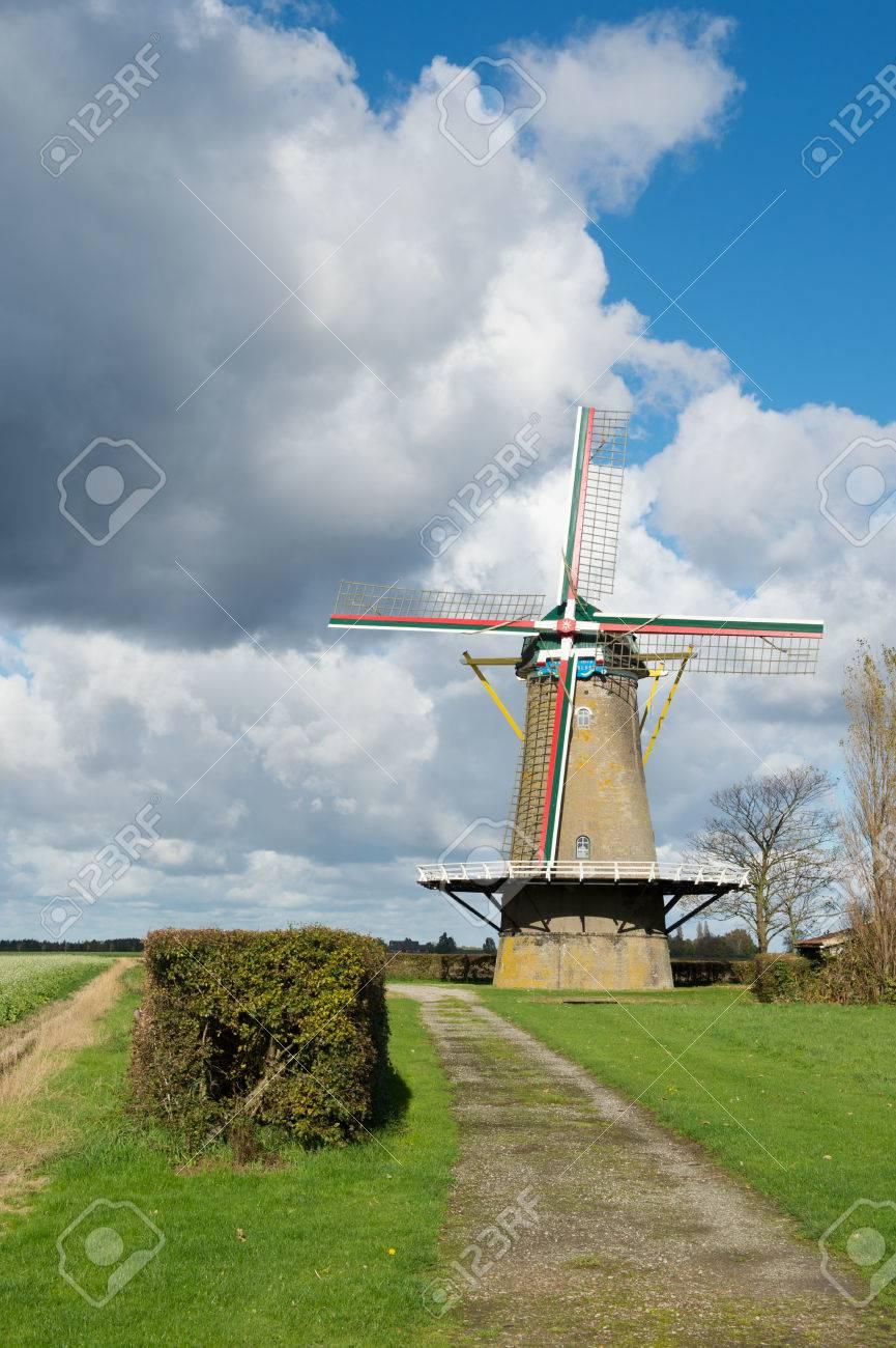 オランダ風車はゼーラント州 Zon...