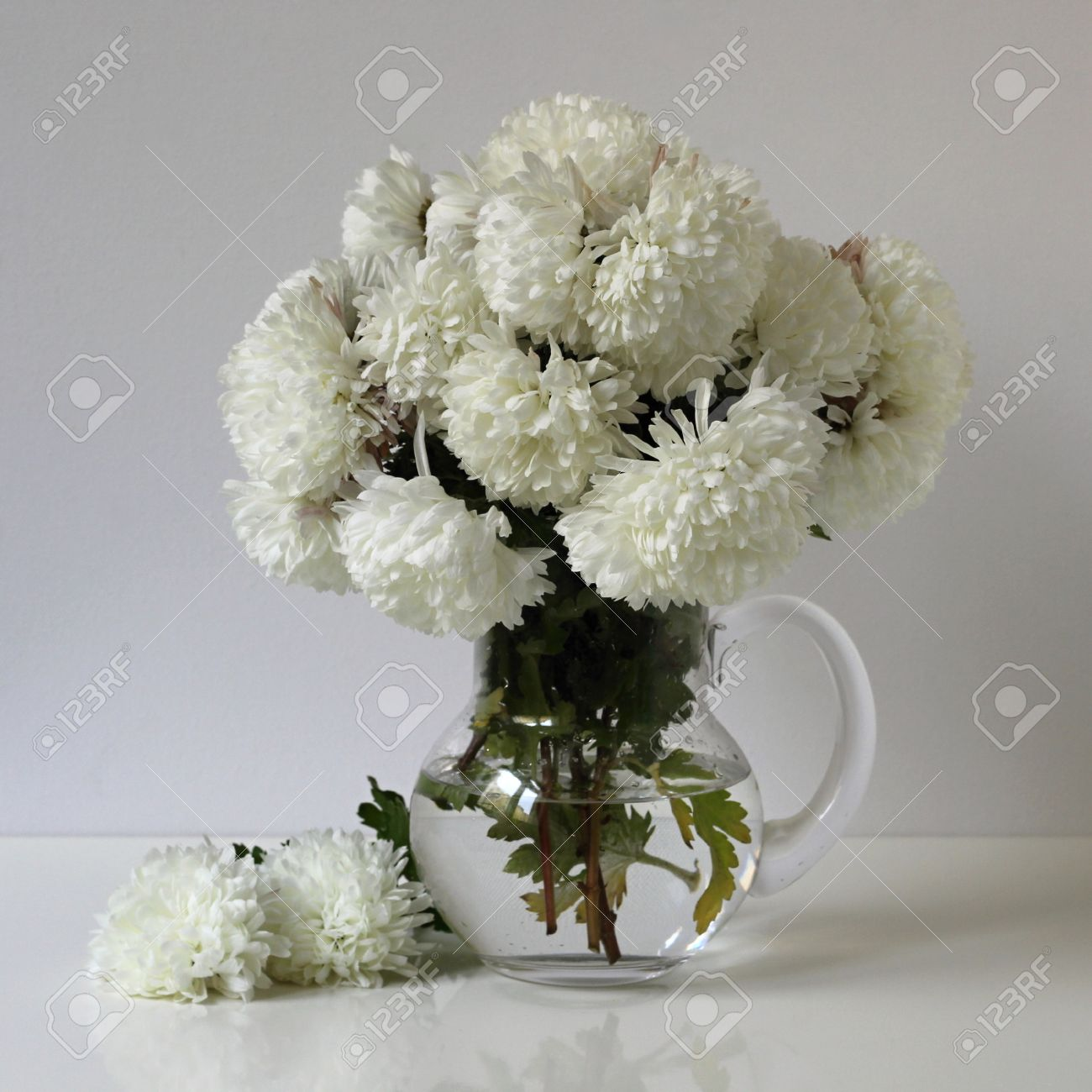 bouquet of white chrysanthemum. autumn still life. floral, Beautiful flower