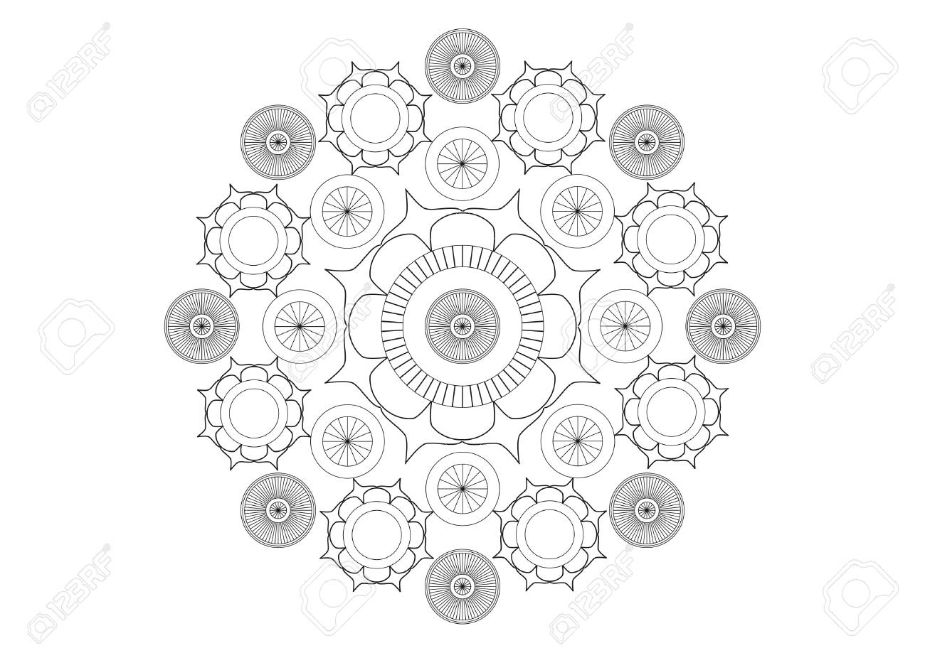 Simple black and white vector background with black and white background - 82864036