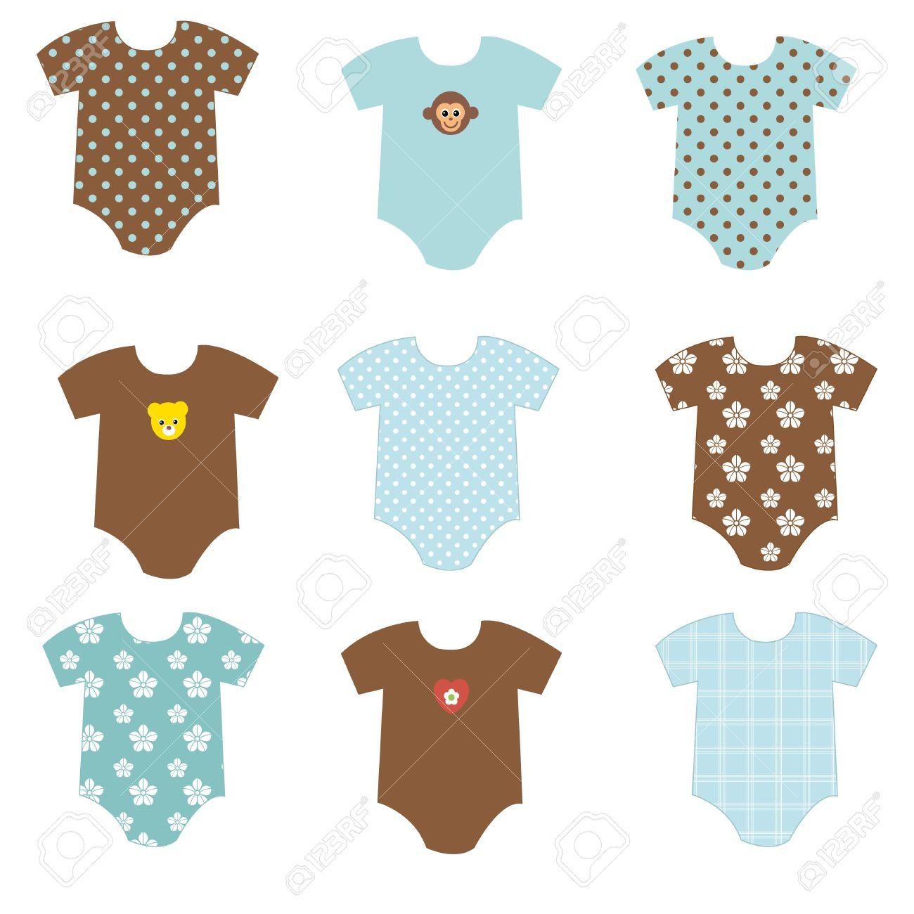 Baby Boy Clothes Stock Photo   9685078