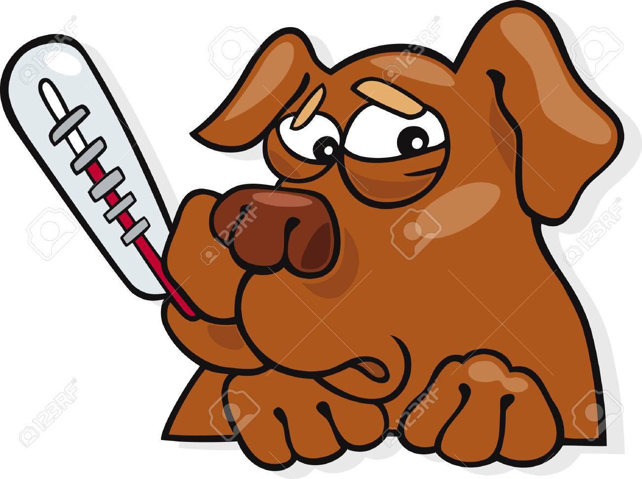 ill dog Stock Vector - 5863478