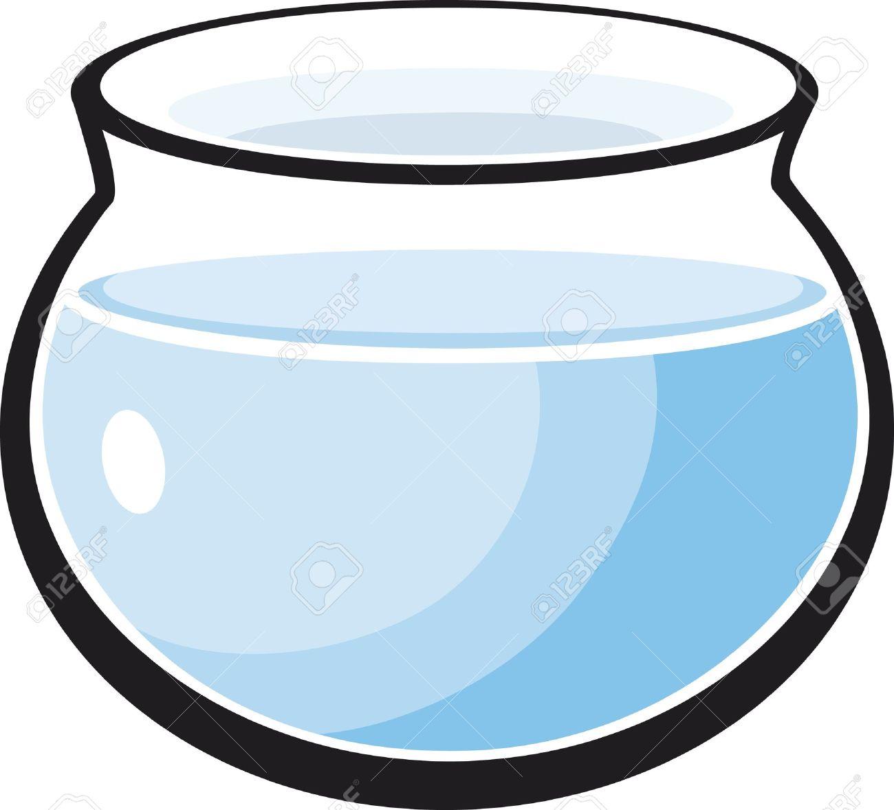 cartoon Illustration of empty fish tank Stock Vector - 10746481