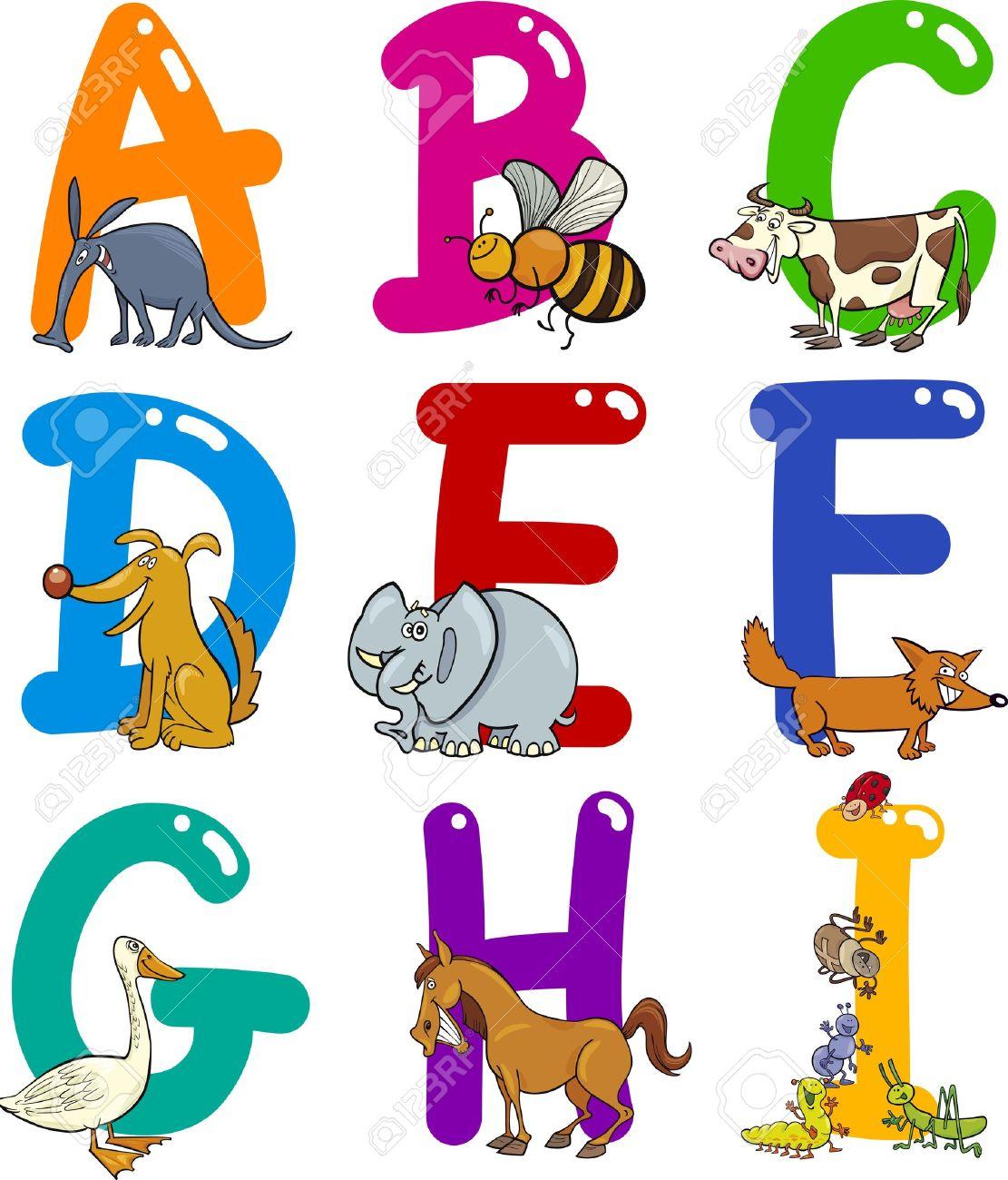 alphabet cartoon images u0026 stock pictures royalty free alphabet