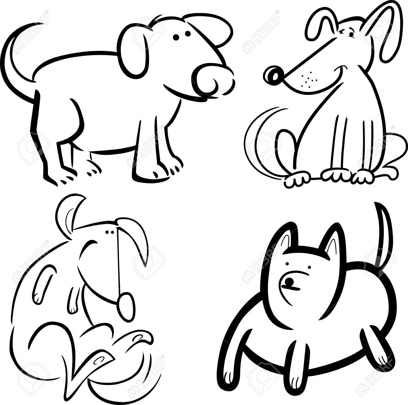Excelente Colorear Perro Lindo Animales Imagen - Dibujos Para ...