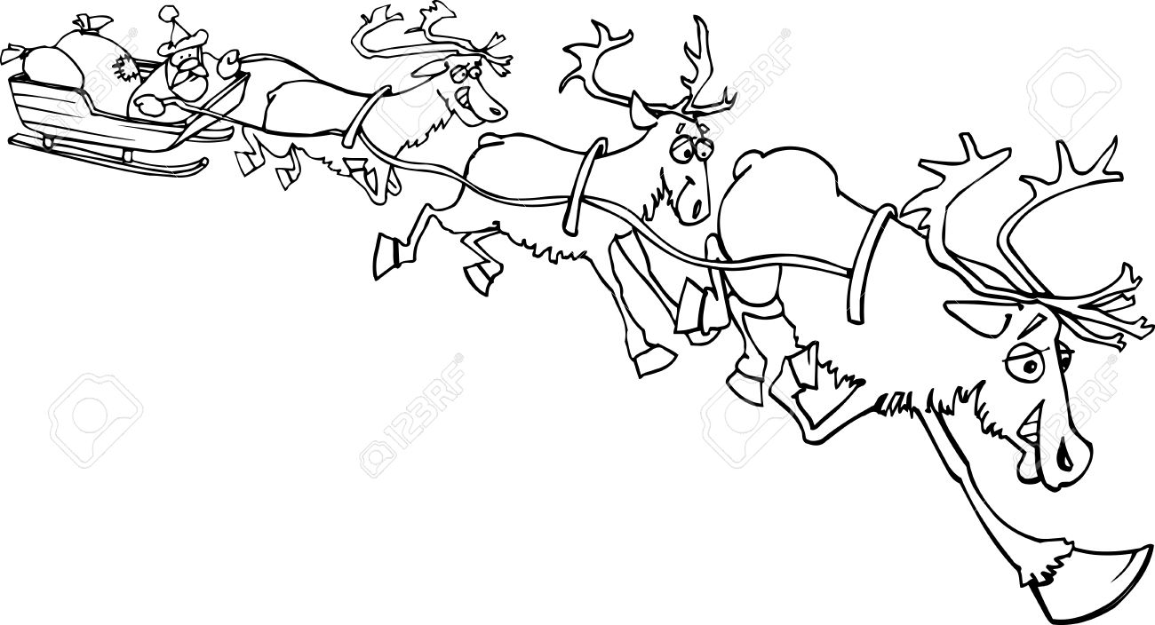 Renos Para Navidad. Reno De Navidad Moderno Dorado De Foam Para ...