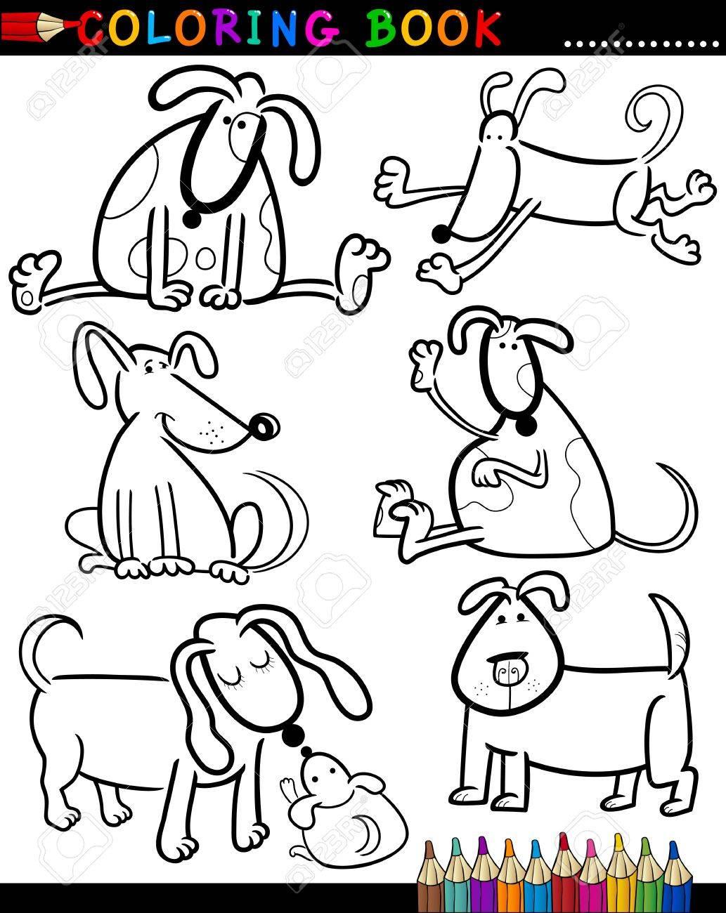 Niedlich Malbuch Für Hunde Ideen - Beispielzusammenfassung Ideen ...
