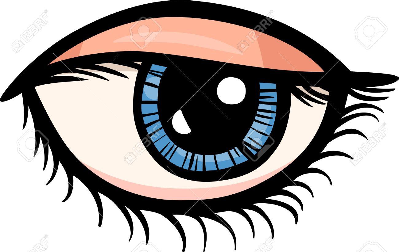 Human Eye Clip Art